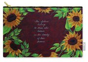 Sunflowers And Dreams Carry-all Pouch