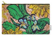 Sunflowers And Irises Carry-all Pouch