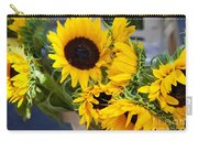 Sunflowers At Market Carry-all Pouch