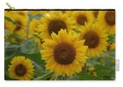 Sunflowers At The Farm Carry-all Pouch