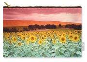 Sunflowers, Corbada, Spain Carry-all Pouch