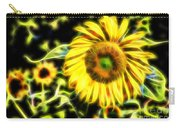 Sunflowers Digitally Carry-all Pouch
