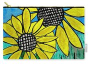 Sunflowers For Fun Carry-all Pouch