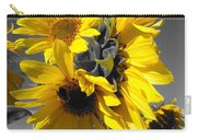 Yellow Selected Sunflowers Carry-all Pouch