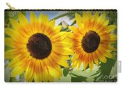 Sunflowers In Full Bloom Carry-all Pouch