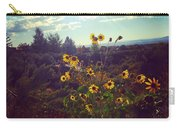 Sunflowers In Sun Light Carry-all Pouch