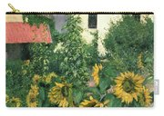 Sunflowers In The Garden At Petit Gennevilliers  Carry-all Pouch