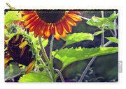Sunflowers In The Park Carry-all Pouch
