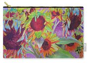 Sunflowers Carry-all Pouch by Joshua Morton