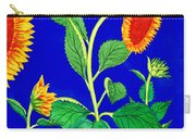 Sunflowers Carry-all Pouch by Irina Sztukowski