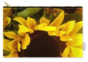 Sunflowers Tall Carry-all Pouch
