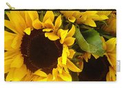 Sunflowers Wide Carry-all Pouch
