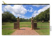 Sunken Garden At William And Mary Carry-all Pouch