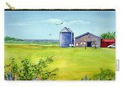 Sunkissed And Windblown Lupines And Laundry In Pei Carry-all Pouch