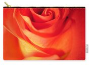 Sunkissed Orange Rose 10 Carry-all Pouch