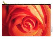 Sunkissed Orange Rose 11 Carry-all Pouch
