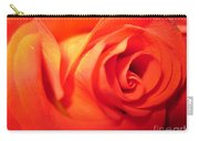 Sunkissed Orange Rose 6 Carry-all Pouch