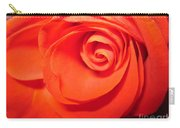 Sunkissed Orange Rose 9 Carry-all Pouch
