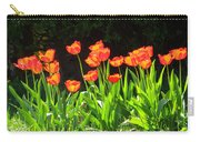 Sunkissed Tulip Garden Carry-all Pouch