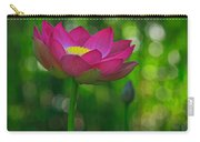 Sunlight On Lotus Flower Carry-all Pouch