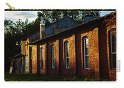 Sunlight On Old Brick Building - Ellensburg - Washington Carry-all Pouch