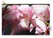 Sunlight On Pink Orchid Carry-all Pouch