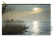 Sunlight On The Lake With Pampas Grass Carry-all Pouch
