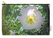 Sunlight On The Wild Pink Rose Carry-all Pouch