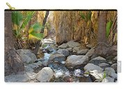 Sunlight Over Rocky Andreas Creek In Indian Canyons-ca Carry-all Pouch