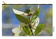 Sunlit Dogwood Blossoms Carry-all Pouch