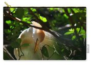 Sunlit Egret Carry-all Pouch