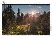 Sunlit Flower Meadows Carry-all Pouch