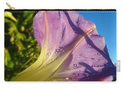 Sunlit Morning Glory Carry-all Pouch