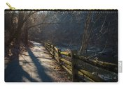 Sunlit Path Carry-all Pouch