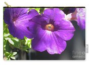 Sunlit Petunias Carry-all Pouch