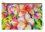 Sunlit Plumeria Carry-all Pouch