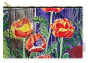 Sunlit Poppies Carry-all Pouch