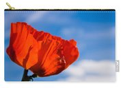 Sunlit Poppy Carry-all Pouch