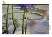 Sunlit Purple Lilies  Carry-all Pouch