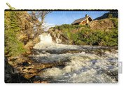 Sunlit Rapids In Glacier Carry-all Pouch