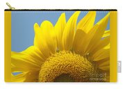 Sunlit Sunflower Carry-all Pouch