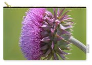 Sunlit Thistle Carry-all Pouch