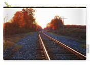 Sunlit Tracks Carry-all Pouch