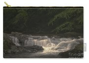 Early Morning Sunlit Waterfall Carry-all Pouch
