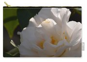 Sunlit White Camelia 2013 Carry-all Pouch