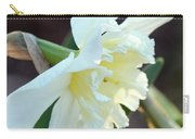Sunlit White Daffodil Carry-all Pouch
