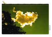 Sunlit Yellow Cloud Carry-all Pouch