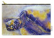 Sunning Turtle Carry-all Pouch