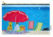 Sunny Afternoon At The Beach Carry-all Pouch