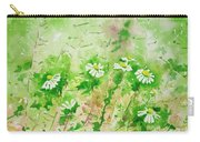 Sunny Daisies Carry-all Pouch